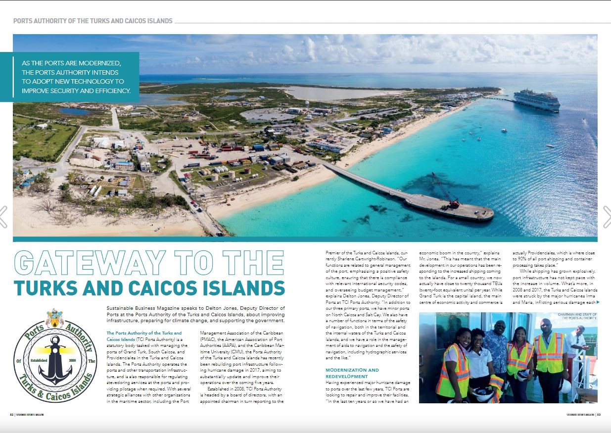 Turks and Caicos Islands Ports Authority: Gateway to the Turks and Caicos Islands